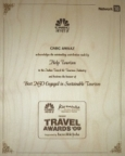 CNBC Awaaz Travel Award 2009
