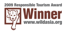 2009 Responsoble Tourism Award - Winner - www.wildasia.org