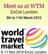 Meet us at WTM, ExCel London, 8th to 11th March 2010